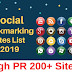 200+ High Pr Free Social Bookmarking Sites List 2019 Thats Boost SEO And Traffic