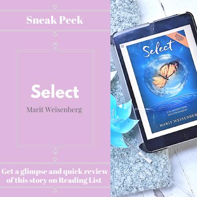 Select by Marit Weisenberg ... a Sneak Peek on Reading List