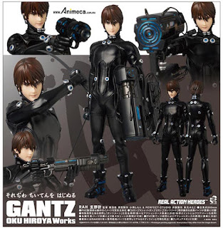 Figura Kei Kurono Real Action Heroes (RAH) No.553 GANTZ