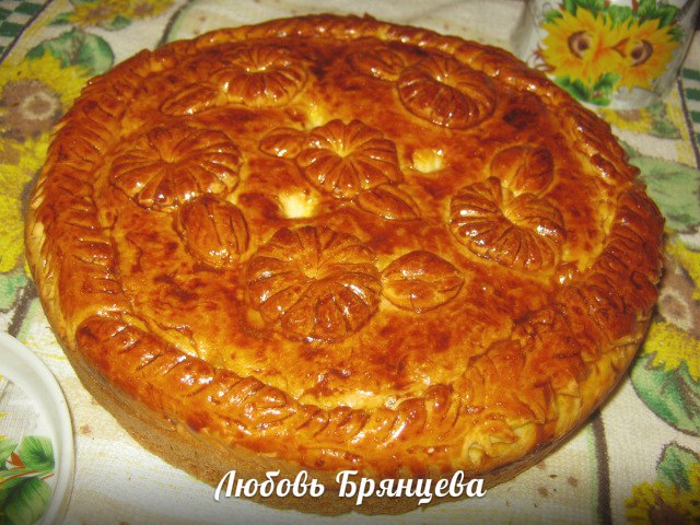 домашняя выпечка, капустный пирог
