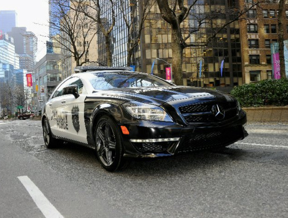 mercedes new york police