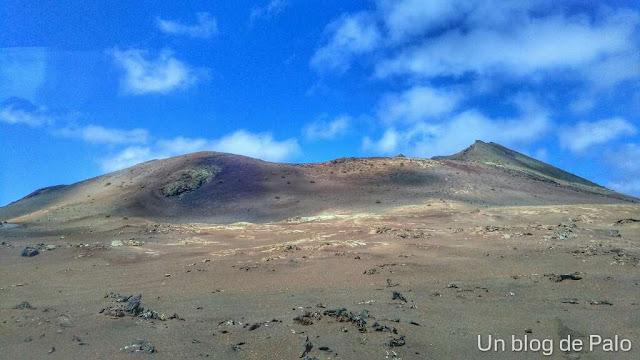 Valle del silencio en el Timanfaya recorrido