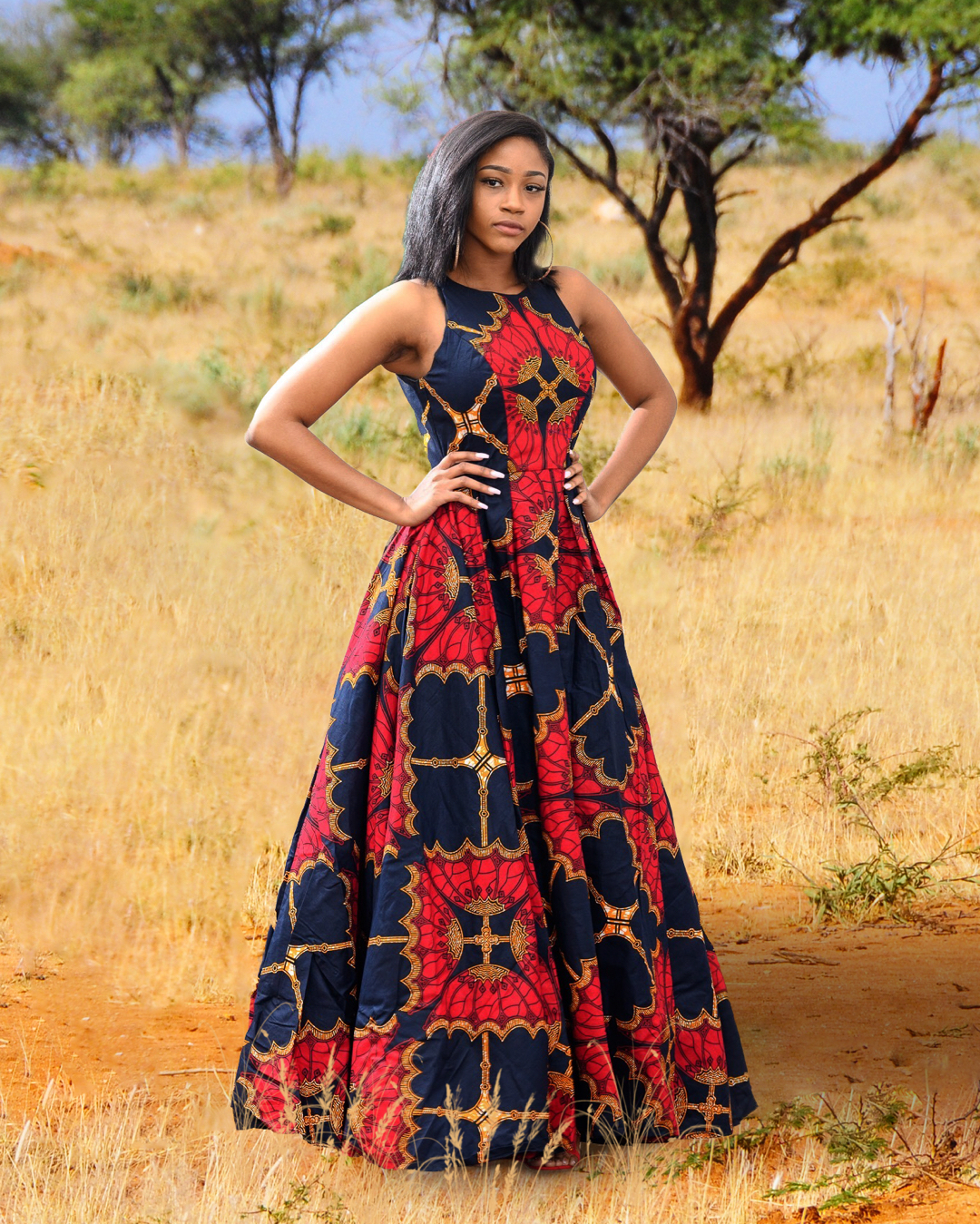 Beautiful Ankara long dresses styles in Africa | fashenista