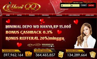 MurniQQ Situs Bandar , Domino99 , Poker Online Terpercaya
