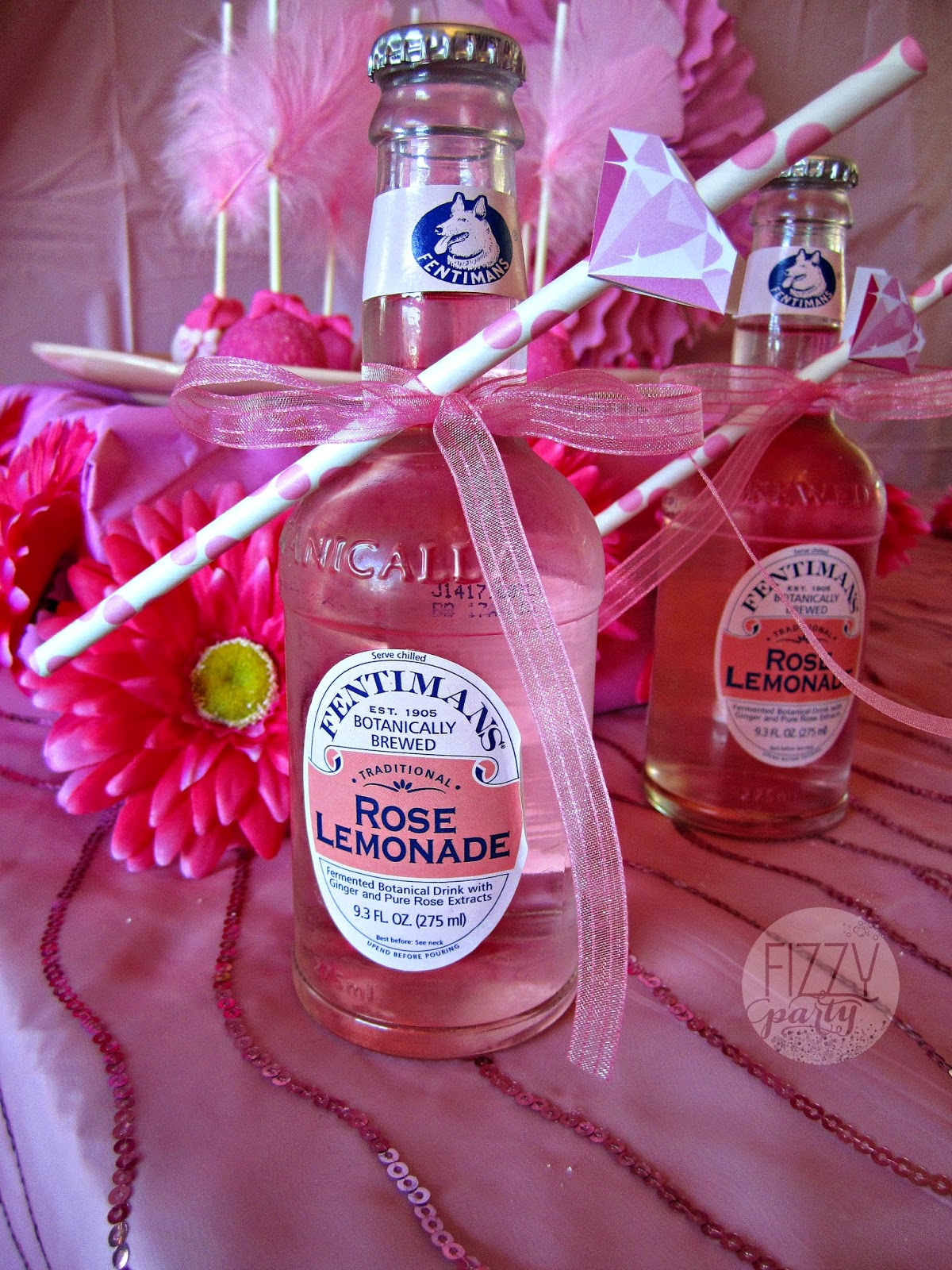 Pink Party pink drinks
