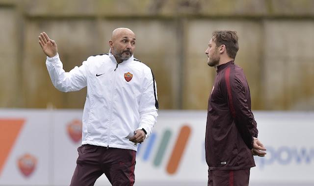 Totti and Spalletti