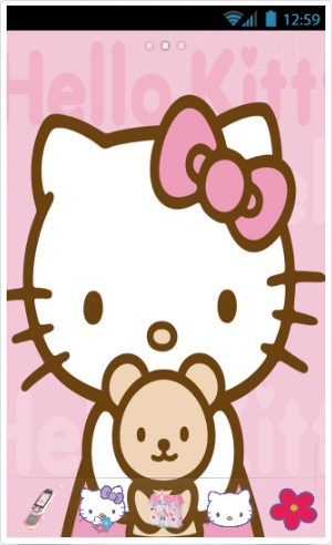 Hello kitty facebook and messenger theme. (tutorial how to.