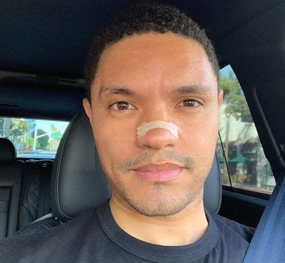 'Daily Show' host Trevor Noah silenced by a voice issue