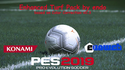 PES 2019 Enhanced Turf Pack by Endo