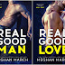 Double Cover Reveal -  Real Good Man & Real Good Love by Meghan March
