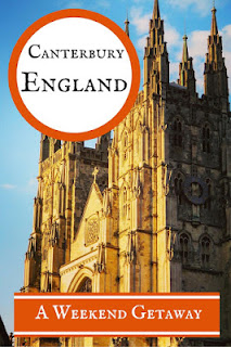 Sidewalk Safari - 10 Reasons to Visit Canterbury, England for a Weekend Getaway - http://www.sidewalksafari.com/2015/10/weekend-in-canterbury-england.html