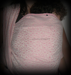 vesper wrap galaxia écharpe portage frontcarry carry babywearing toddler baby bébé bambin porter woven ventre devant