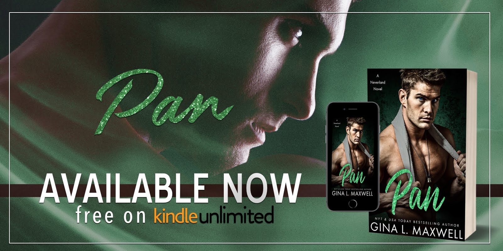 Pan by Gina L. Maxwell available now!