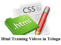 Html Training Videos in Telugu