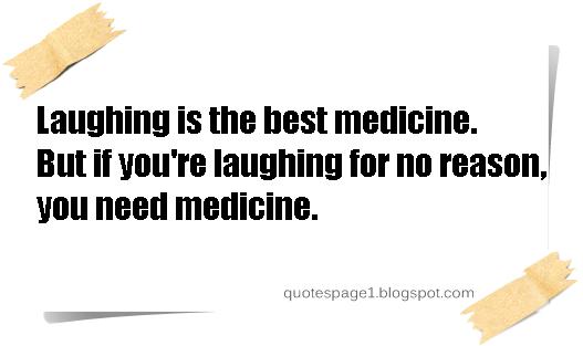 Laughter Best Medicine Topic