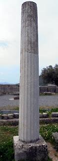 το μνημείο του Δαμοφώντα στην Αρχαία Μεσσήνη