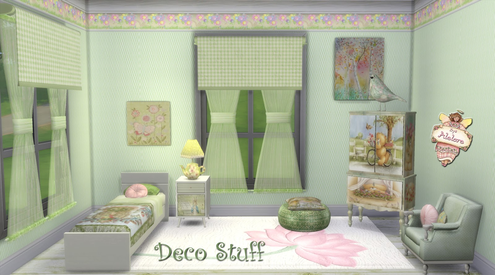 Alelore sims blog deco stuff for Deco appartement sims 4