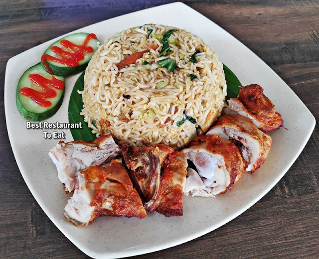 OBL Original Banana Leaf Putrajaya Menu - Maggi Mee Goreng With Chicken