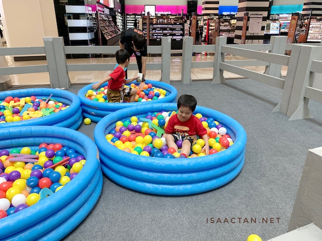 Find the alphabets in these ball filled pools