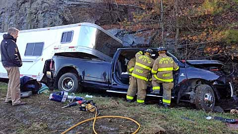 Springfield Vermont News Horse Trailer Accident On I 91