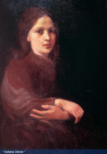 Khalil Gibran Painting Sultana Gibran
