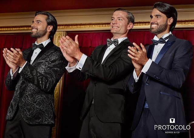 Protocolo, novios, Novios 2016, Bolivia, apertura, ceremonia, Bodas 2016, Suits and Shirts, esmoquin, tuxedo, Made in Spain,