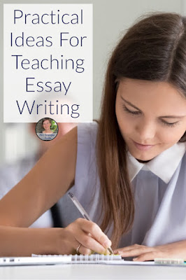 Do you teach essay writing in your #languagearts classroom?  Get new ideas to reach all learners!  #teaching #middleschool #highschool #tips