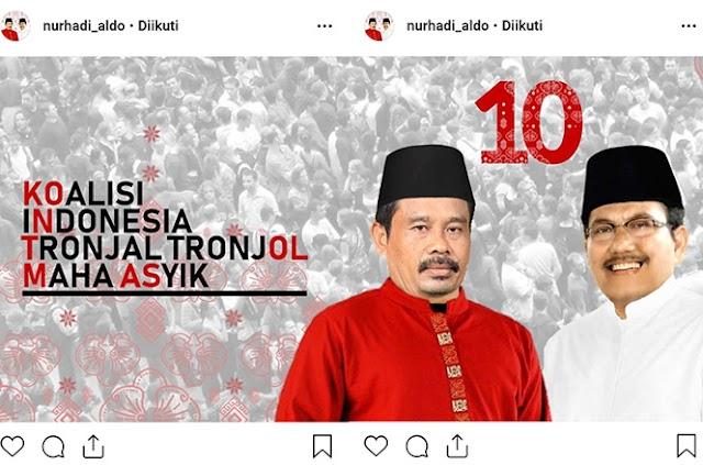 Terungkap Sosok Nurhadi - Aldo 'Pesaing' Jokowi - Ma'ruf dan Prabowo - Sandi yang Viral di Medsos