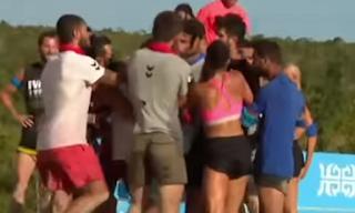 Χαμός στο Survivor: Πιάστηκαν στα χέρια Έλληνες και Τούρκοι - ΕΙΚΟΝΕΣ