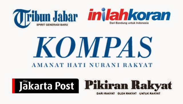 Logotype dalam Surat Kabar