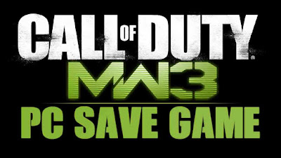 cod mw3 save game