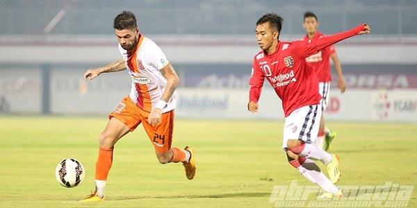 Bali United Gagal Kalahkan 10 Pemain PBFC
