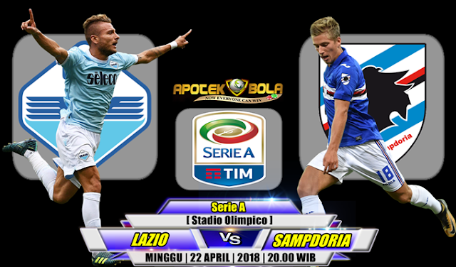 Prediksi Lazio vs Sampdoria 22 April 2018