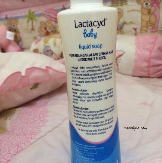 Review Lactacyd Baby Liquid Soap, untuk Menghilangkan Ruam dan Biang Keringat si Kecil