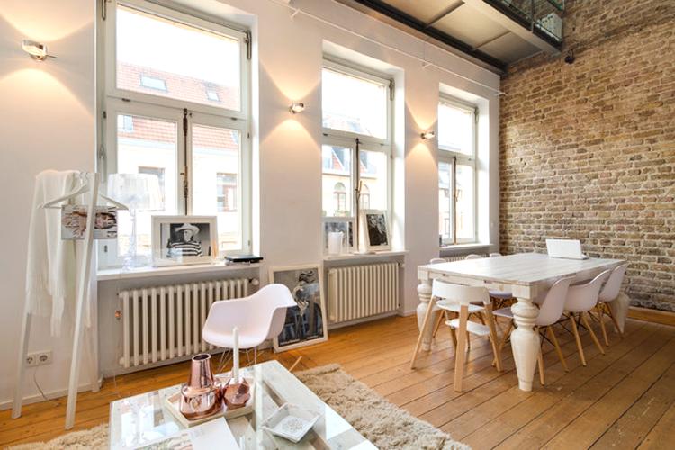 la petite fabrique de r ves le superbe loft allemand de lena terlutter. Black Bedroom Furniture Sets. Home Design Ideas