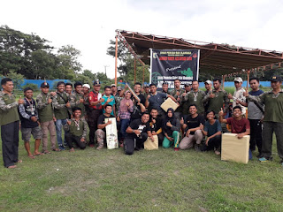 Cari Bibit Atlit Tembak, Kodim Lotim Gelar Lomba Air Rifle Shooting Competition