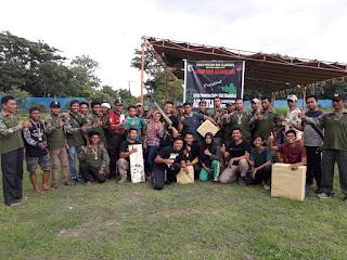 Cari Bibit Atlit Tembak, Kodim Lotim Gelar Lomba Air Rifle Shooting Competition