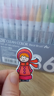 fresh crafts blog: ZIG clean color real brush markers