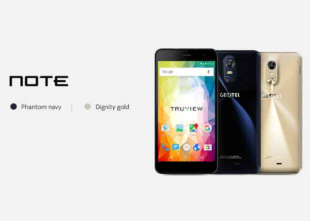 GEOTEL Note With 3GB RAM Priced at $89.99 – Cheapest Smartphone?