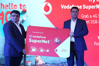 VODAFONE SuperNetTM 4G LAUNCHED IN MORADABAD