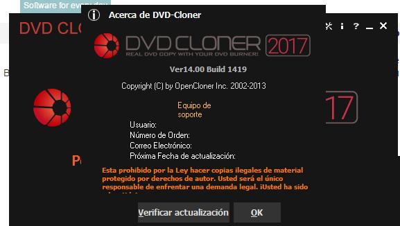DVD-Cloner 2017 Platinum