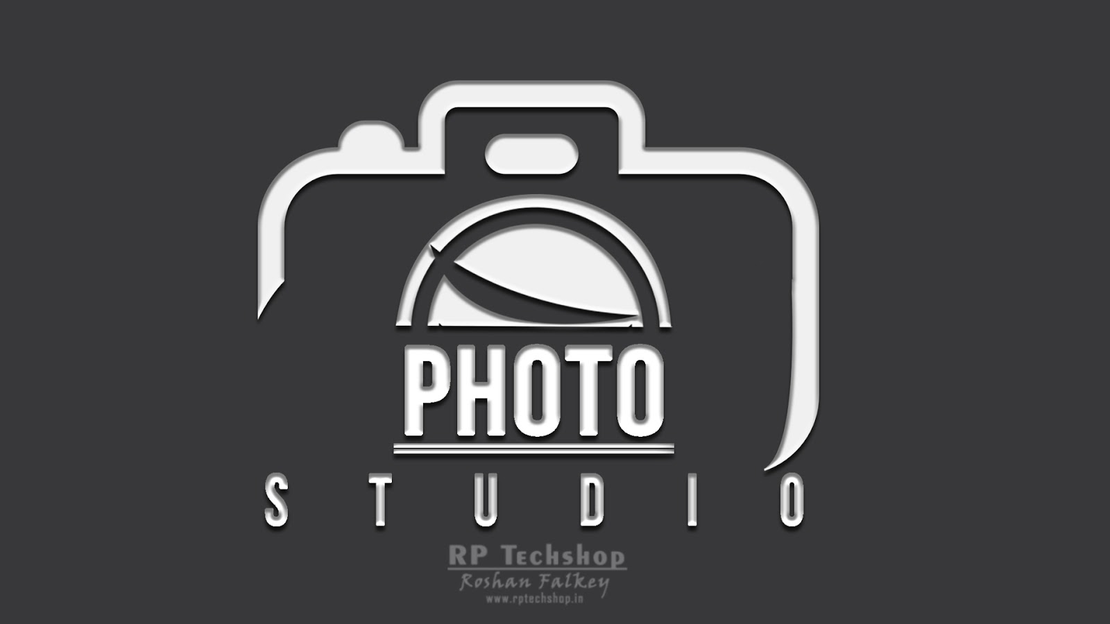 how to make a photography logo