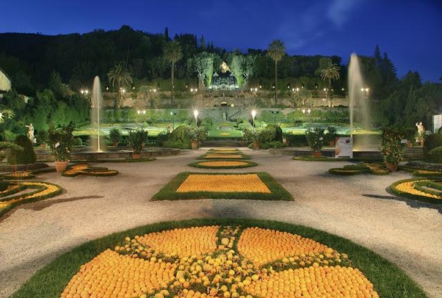 Sobre a Villa Garzoni em Lucca