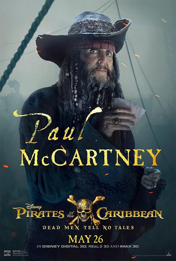 Paul McCartney en gardien de prison dans «Pirates des Caraïbes 5 »