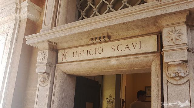 Necrópoles,Basílica de São Pedro, Vaticano