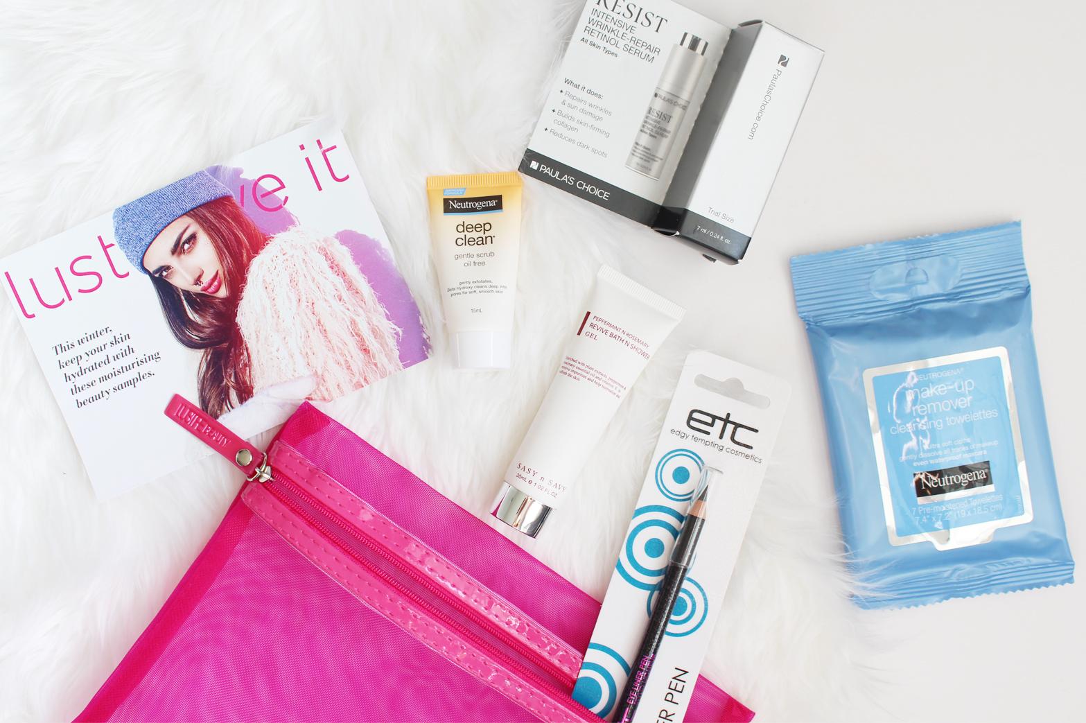LUST HAVE IT | Women's Beauty Box June '16 - Unboxing - CassandraMyee
