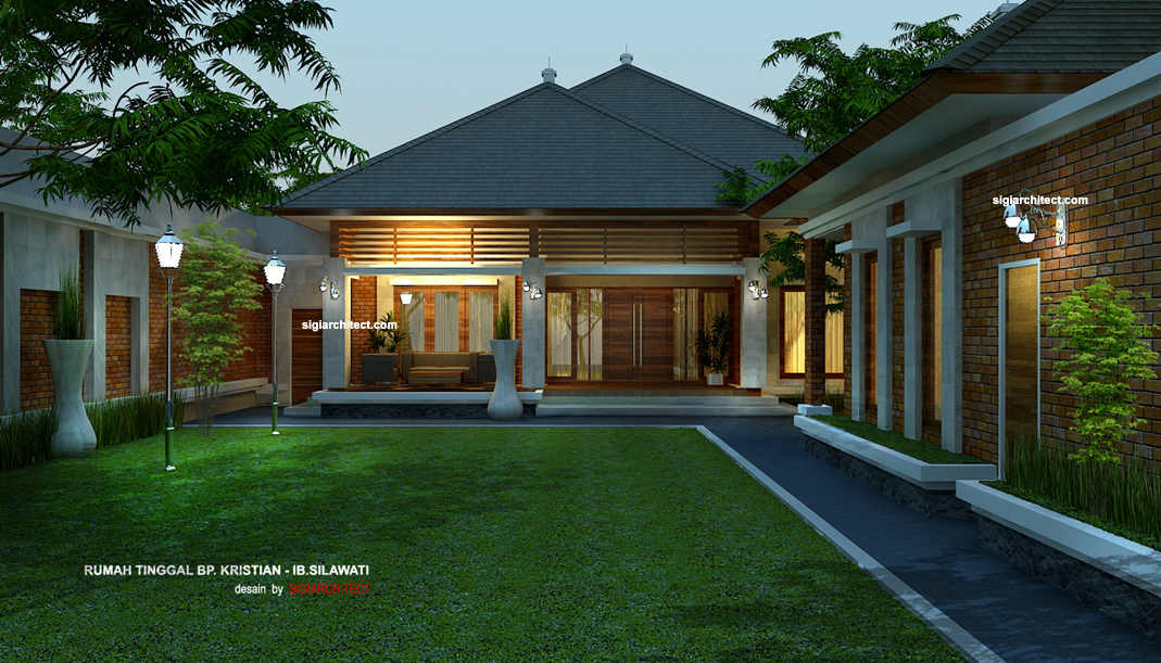 & 45 Desain Rumah Joglo Khas Jawa Tengah | Desainrumahnya.com