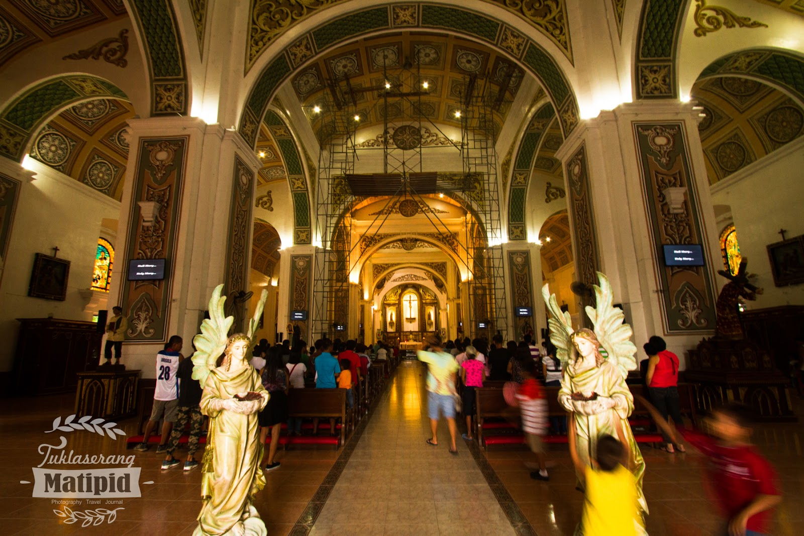 Inside Naga Cathedral