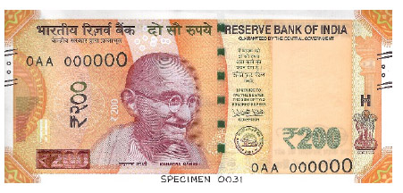 901. Say Hi to the Rs 200 currency