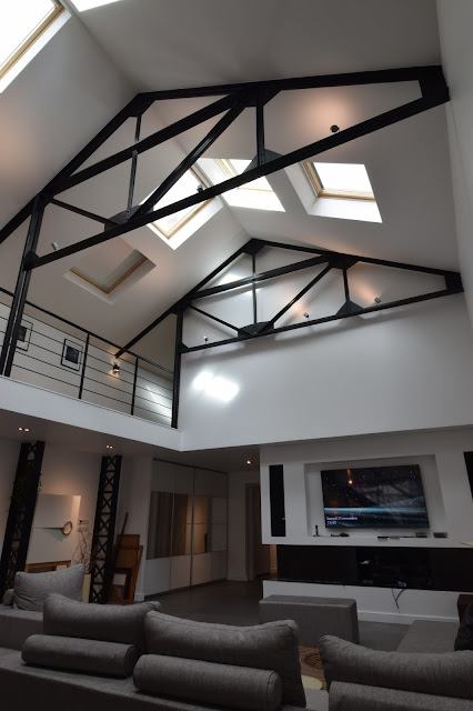 Jacques lenain architecte lille transformation d 39 un for Photo de loft renover
